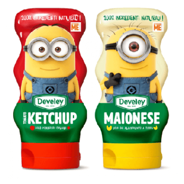 Develey Maionese e Ketchup