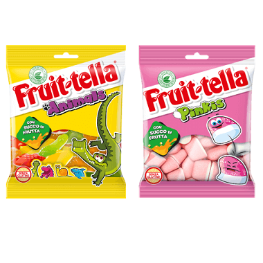Fruittella Pinkies e Animals