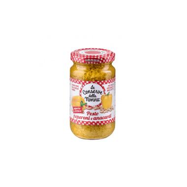 Le Conserve della Nonna Pesto Peperoni e Anacardi