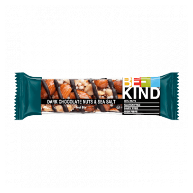 BE-KIND Dark Chocolate, Nuts & Sea Salt