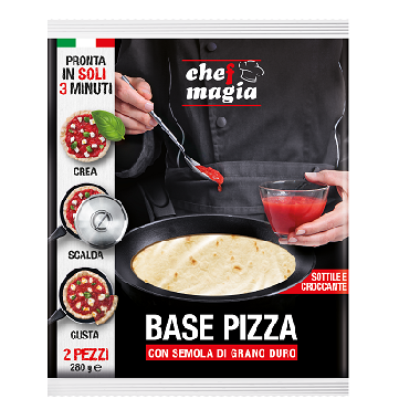 Chef Magia Base Pizza con Semola di Grano Duro